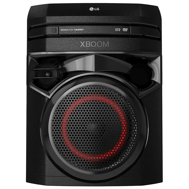 LG Xboom 100 Watts Party Speaker (Vocal Sound Control, ON2D, Black)