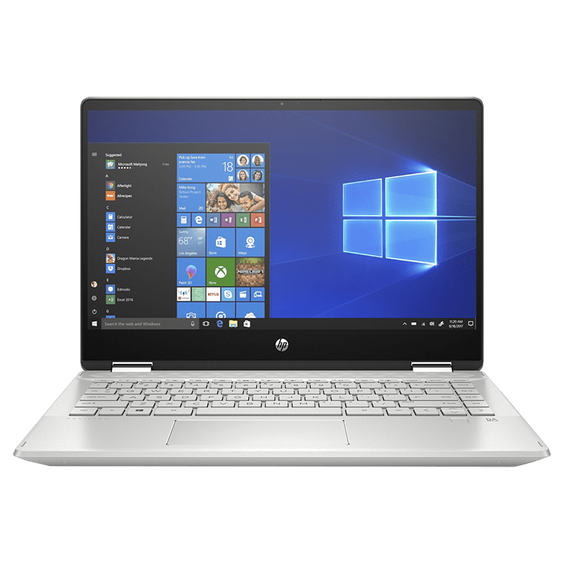 HP Pavilion x360 14-dh1178tu (231T0PA#ACJ) Core i3 10th Gen Windows 10 Home 2-in-1 Laptop (8GB RAM, 512GB SSD, Intel UHD Graphics, 35.56 cm, Mineral Silver)