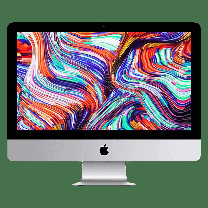 Apple iMac (MHK33HN/A) Core i5 8th Gen macOS All-in-One Desktop (8GB RAM, 256GB SSD, AMD Radeon Pro 560x, 54.61cm, White)
