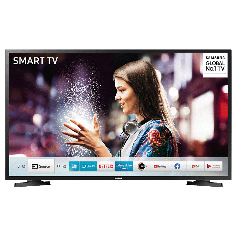 Samsung T5500 108cm (43 Inch) Full HD LED Smart TV (UA43T5500AKXXL, Black)