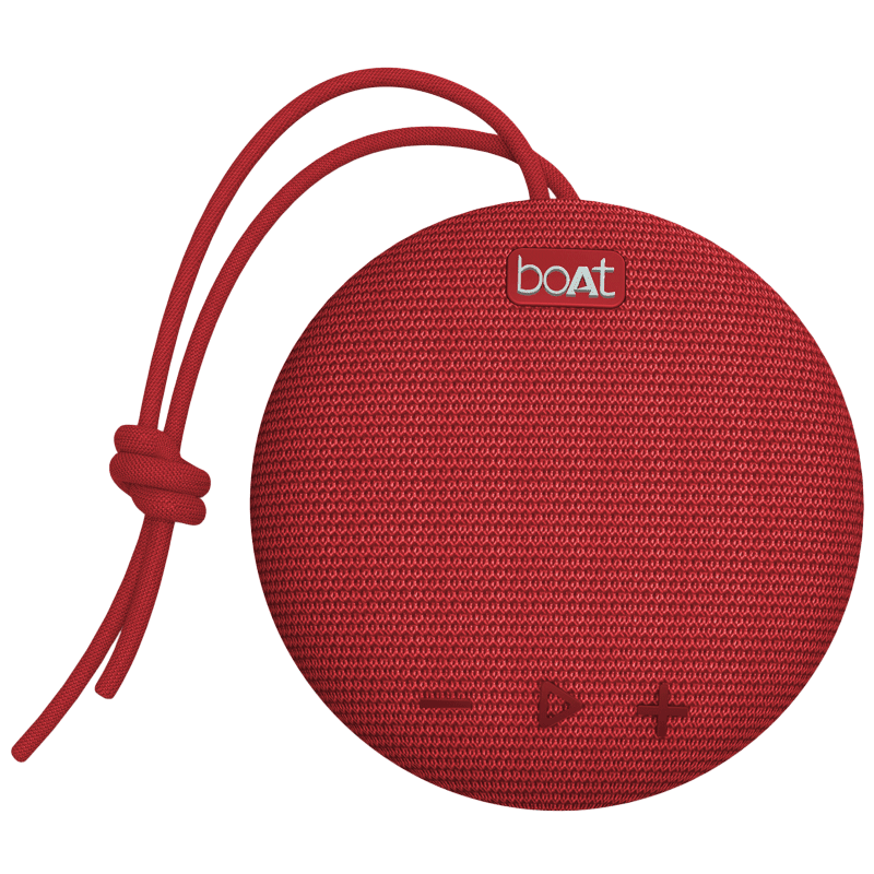 Boat Stone 5 Watts Portable Bluetooth Speaker (Stereo Channel, 193, Red)