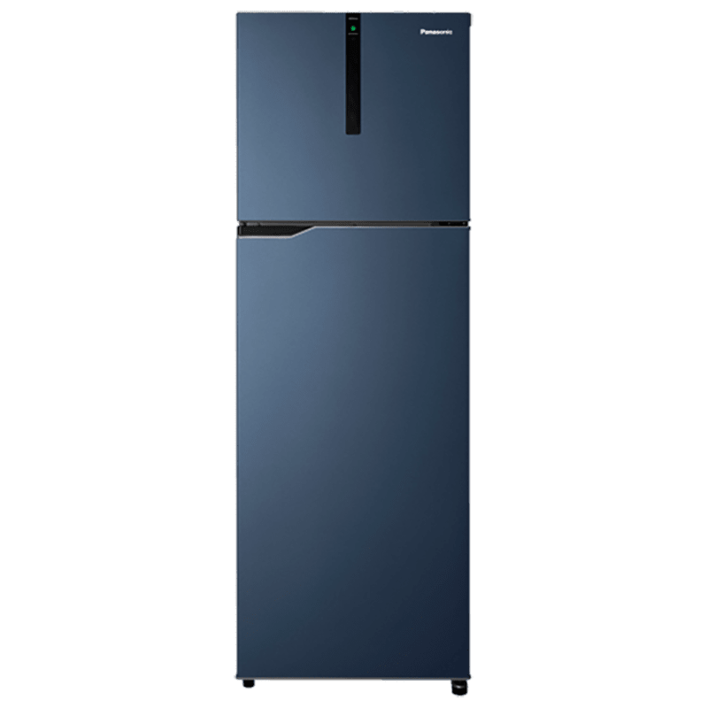 Panasonic 307 Litres 3 Star Frost Free Inverter Double Door Refrigerator (ECONAVI: Smart Cooling Technology, NR-BG313VDA3, Deep Ocean Blue)