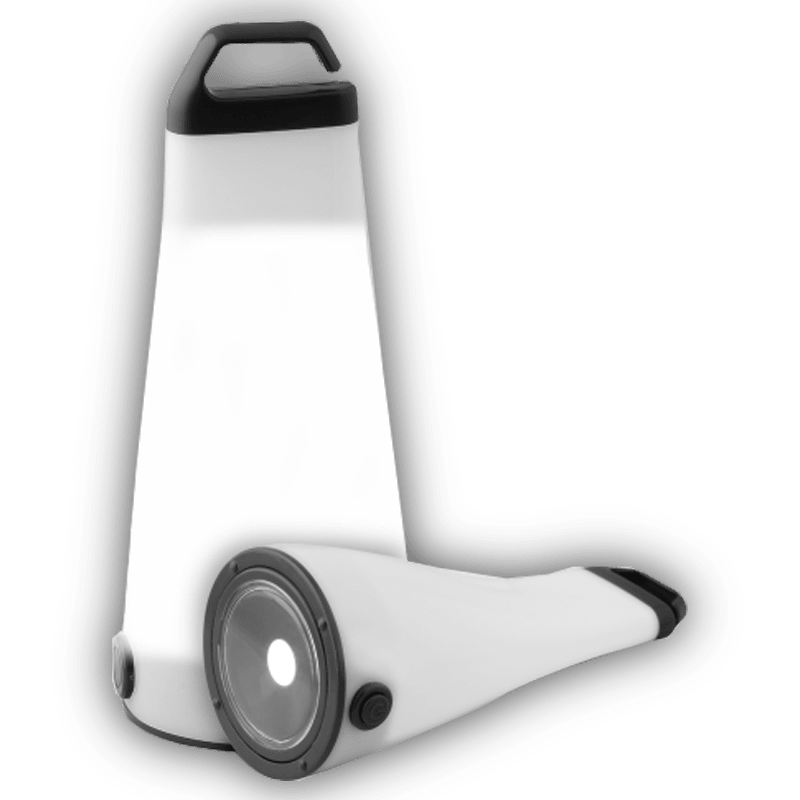 Grob Torch and Lamp (Flip, Black)