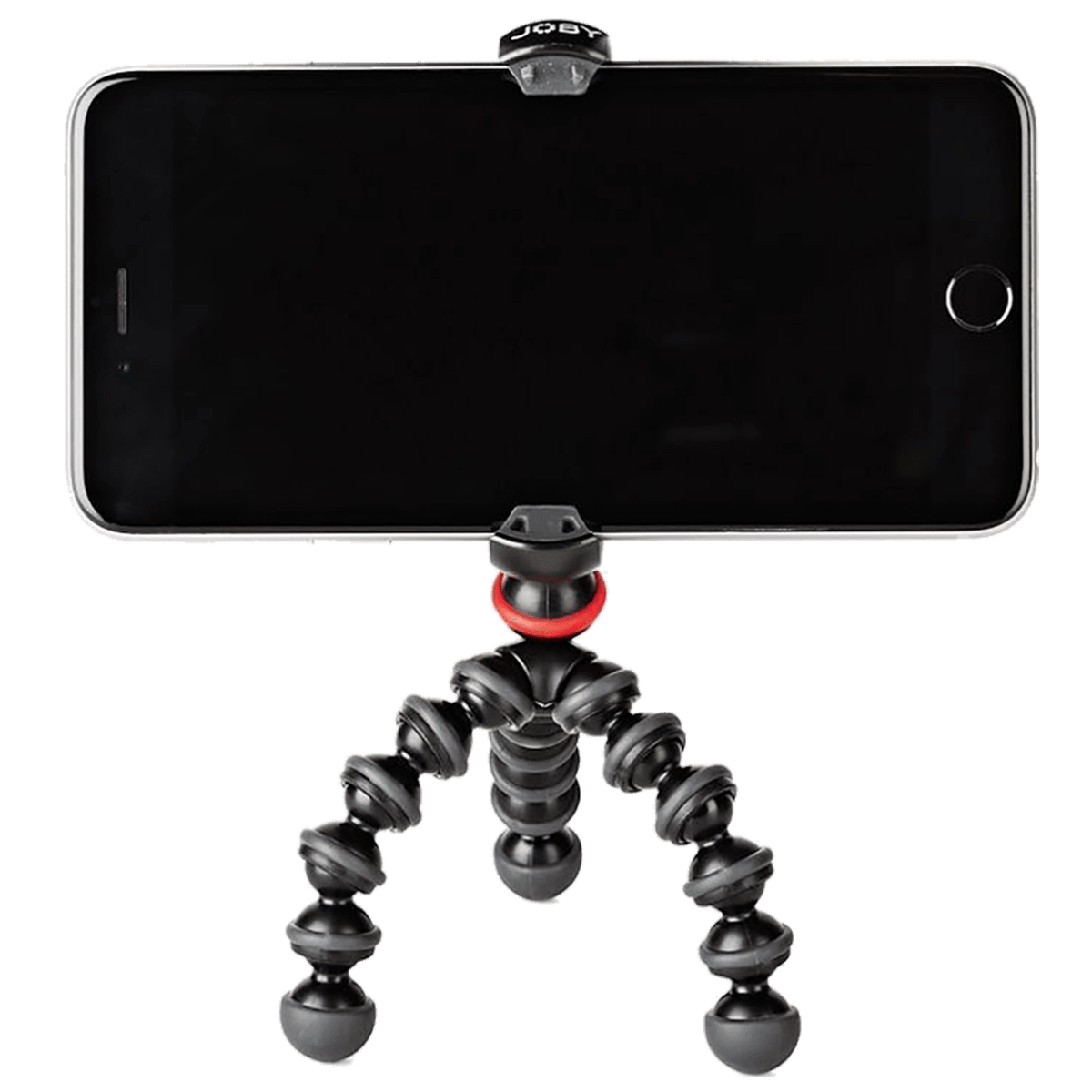 Joby GorillaPod Mobile Mini 13 cm Tripod for Mobile Phones (Rubberized Jaw Grips, JB01517-0WW, Charcoal Black)