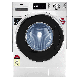 IFB 8 kg 5 Star Fully Automatic Front Load Washing Machine (Self Diagnosis, Senator WSS, Silver)