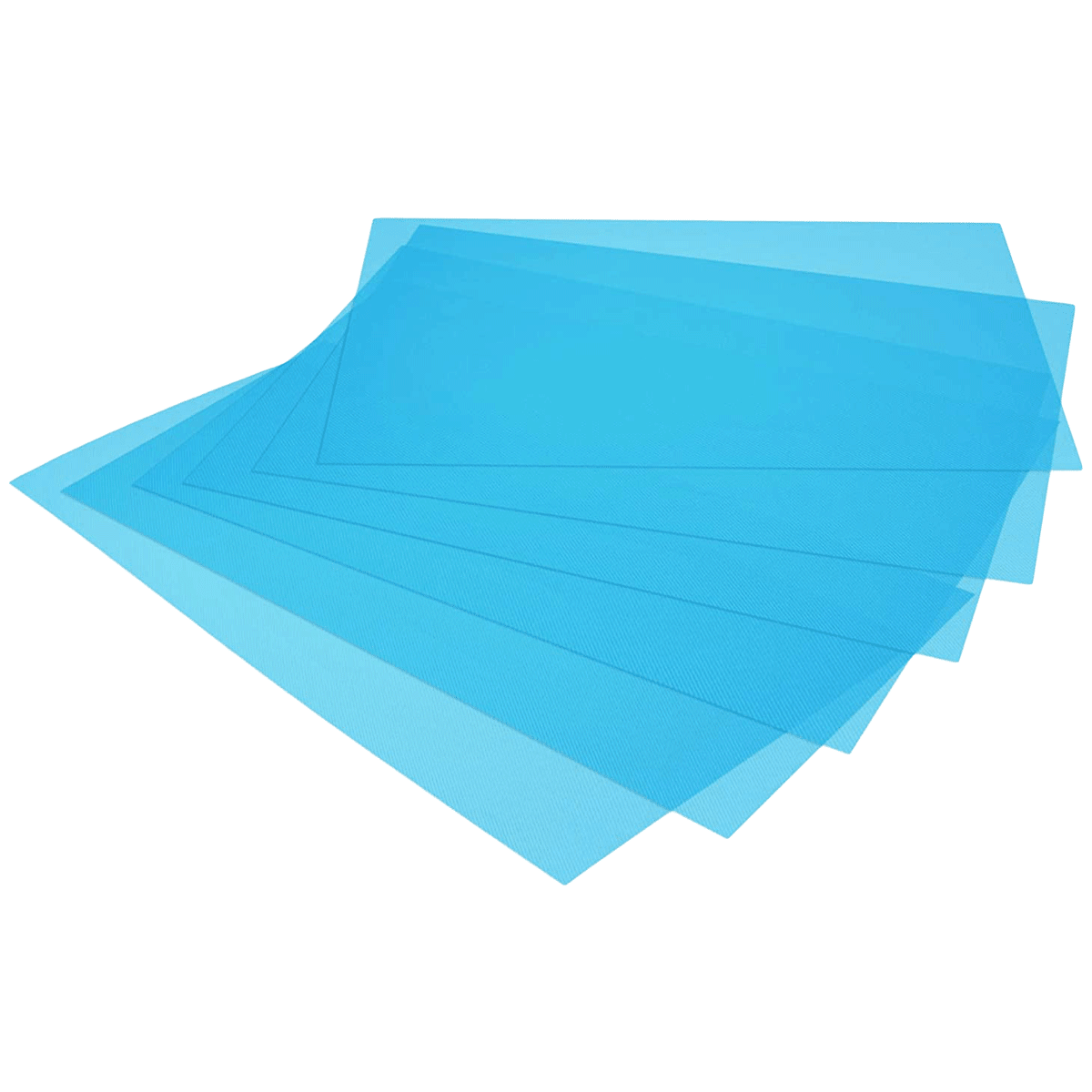 Kuber Industries Mat For Refrigerator (Multi-Purpose Mat, CTKTC032286, Blue)