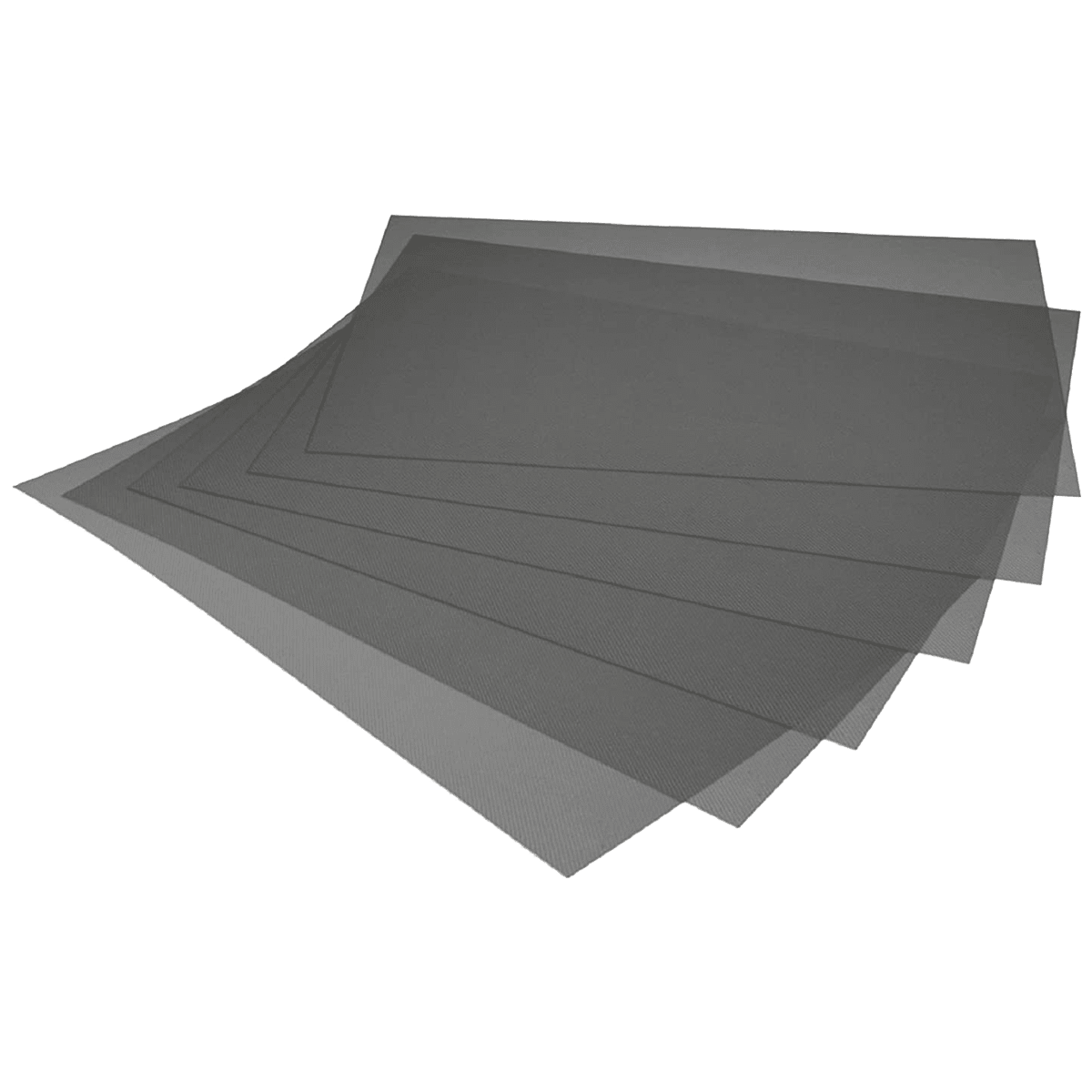 Kuber Industries Mat For Refrigerator (Multi-Purpose Mat, CTKTC032284, Black)