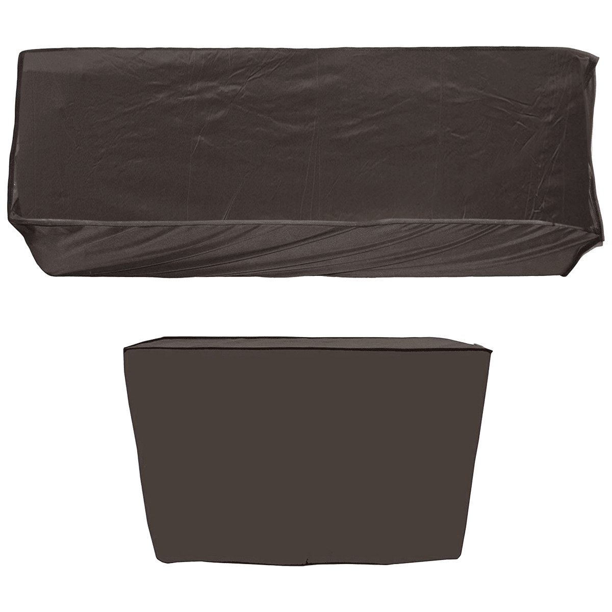 Kuber Industries Cover For Air Conditioner (For Indoor and Outdoor Unit, CTKTC034047, Brown)