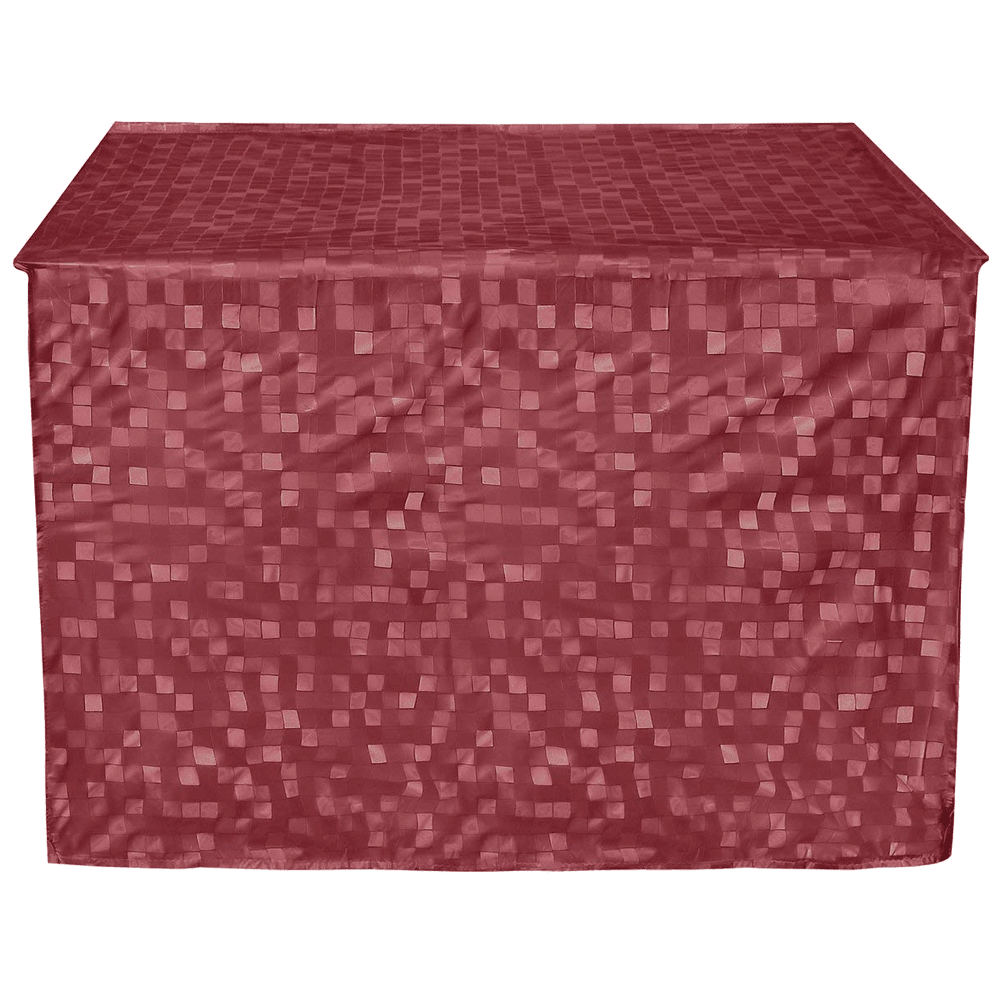 Kuber Industries Cover For Air Conditioner (Durable and Long-lasting, CTKTC01716, Maroon)