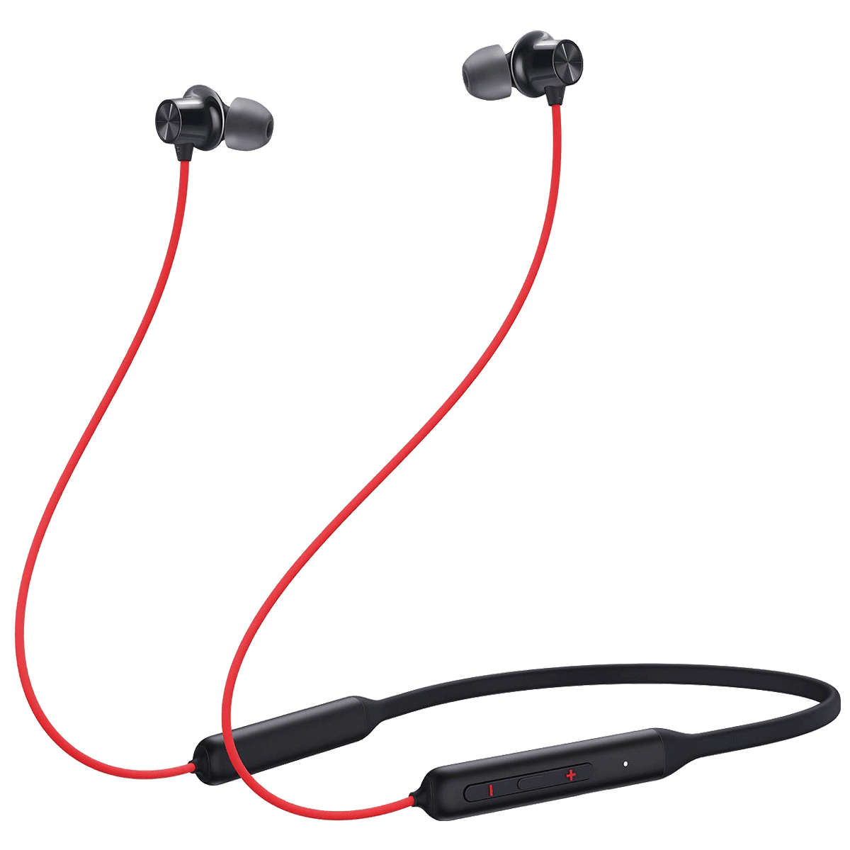 OnePlus Bullets Wireless Z Bass Edition In-Ear Wireless Earphone with Mic (Bluetooth 5.0, Quick Switch, 5481100054, Reverb Red)