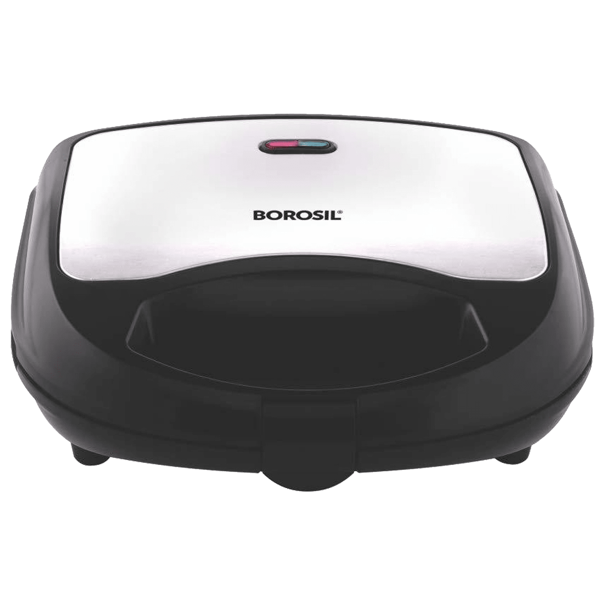 Borosil Neo 700 Watts 2 Slices Automatic Sandwich Maker (BSM70NDS15, Silver)