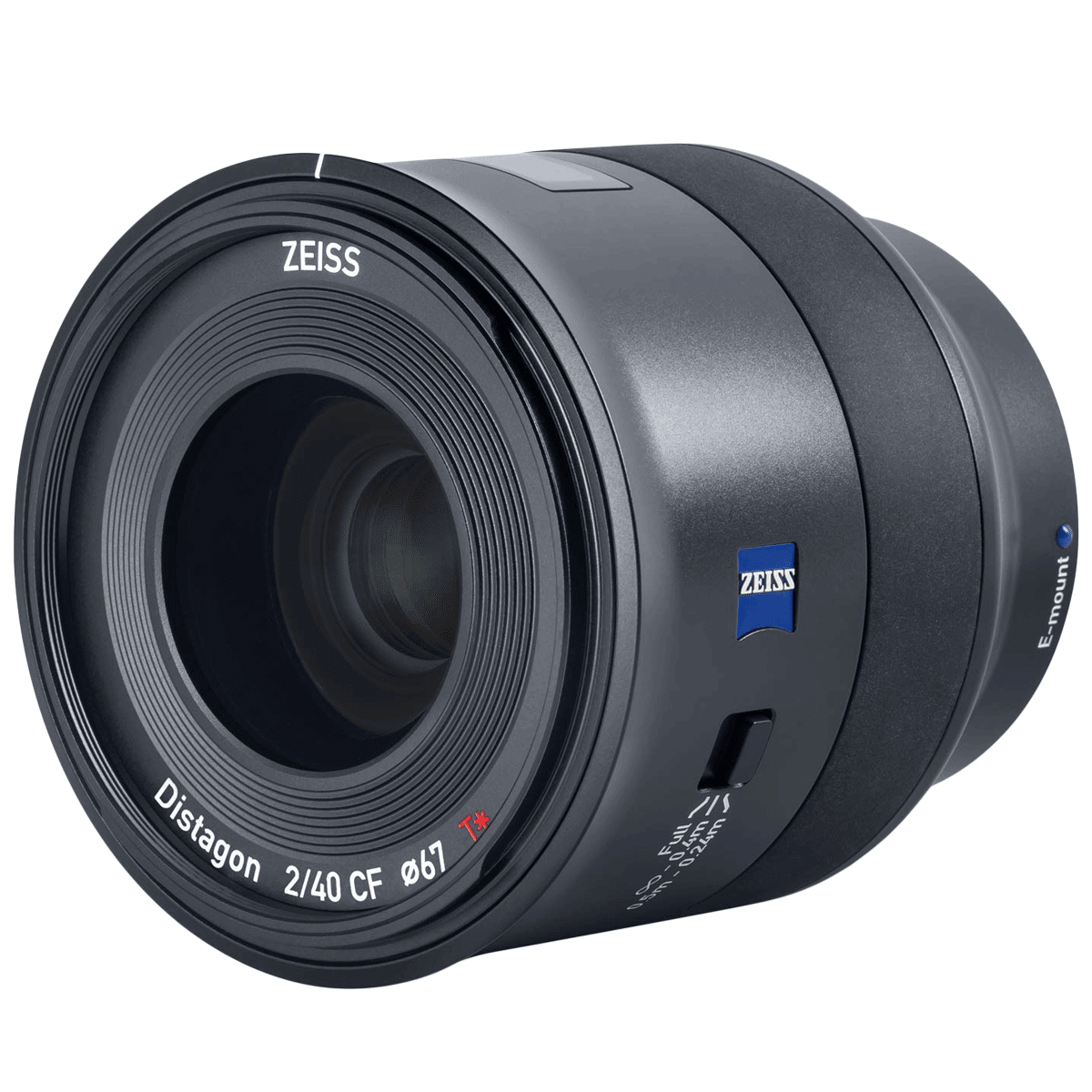 Carl Zeiss Batis 40 mm f/2.0 – f/22 Wide Angle Lens for Sony E-Mount Mirrorless and Full Frame Cameras (Weather and Dust Sealing, 000000-2239-137, Black)