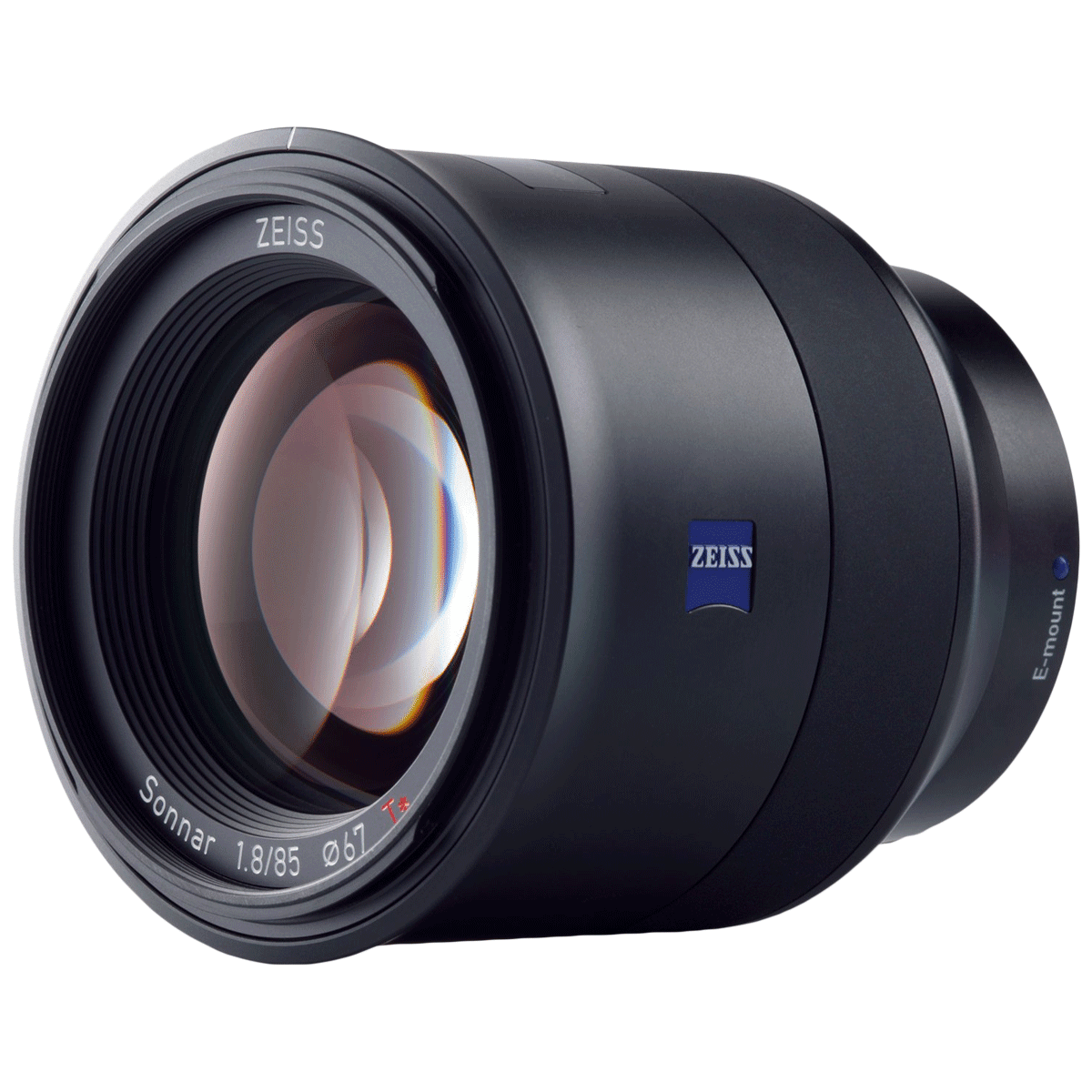 Carl Zeiss Batis 85 mm f/1.8 – f/22 Wide Angle Lens for Sony E-Mount Mirrorless and Full Frame Cameras (Weather and Dust Sealing, 000000-2103-751, Black)