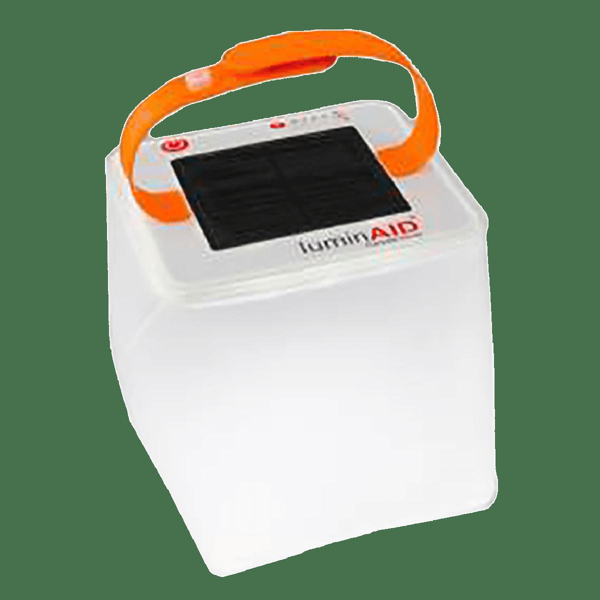 Agni Solar Inflatable Light 2 Solar LED Light (Water Proof, AG-LAN-U, White)