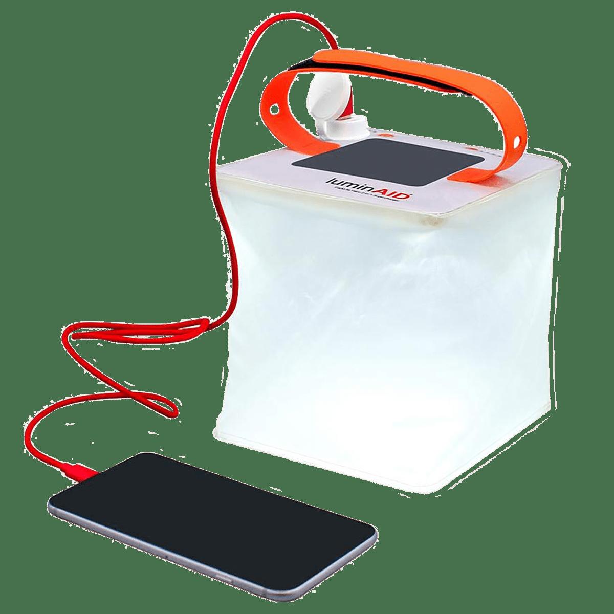 Agni Solar Inflatable Light 3P Solar LED Light (Water Proof, AG-LAP, White)