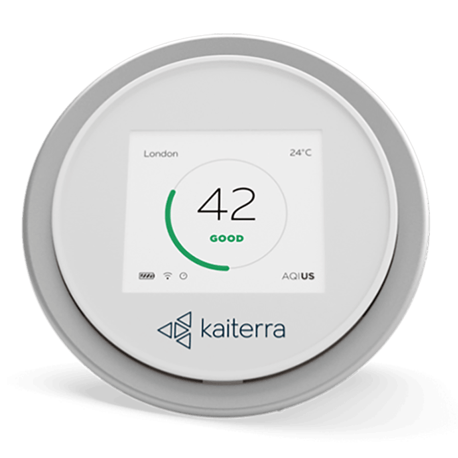 Kaiterra Laser Egg Air Quality Indicator (Wi-Fi Connectivity, LE000200A, White)