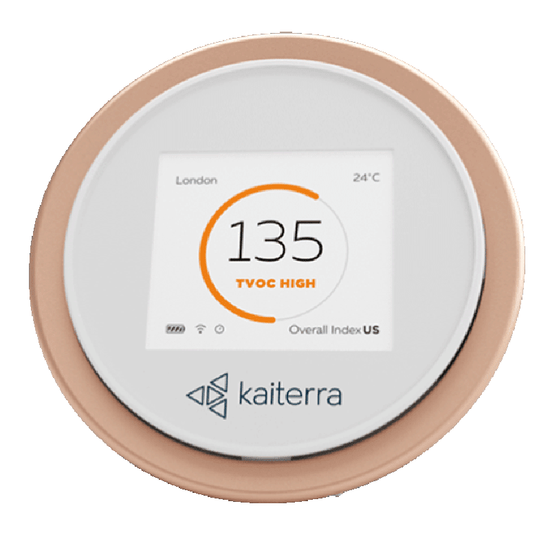 Kaiterra Laser Egg+ Chemical Air Quality Monitor for Accurate Detection of Air Pollution (Wi-Fi Connectivity, LE001201A, White)
