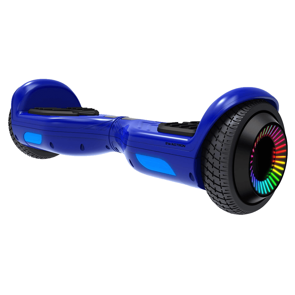 Swagtron SwagBoard Twist Hoverboard (LED Wheels, T881-Remix, Blue)