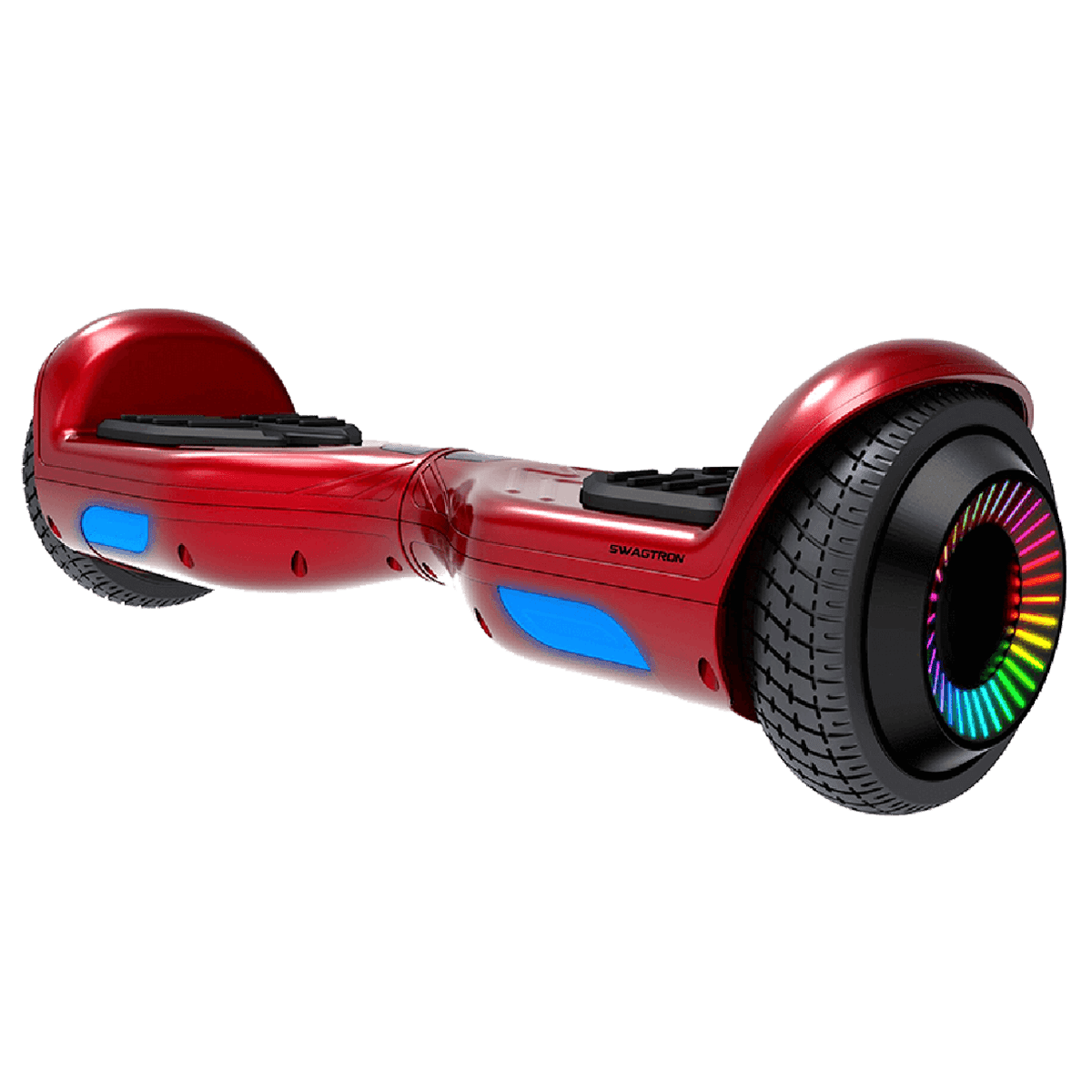 Swagtron SwagBoard Twist Hoverboard (LED Wheels, T881-Remix, Red)