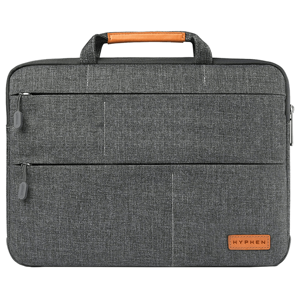 Hyphen ESSE 101 Micro-Fiber & Fleece Sleeve For 13 Inch Laptop (Scratch Resistant, HBG-GRY2590, Grey)