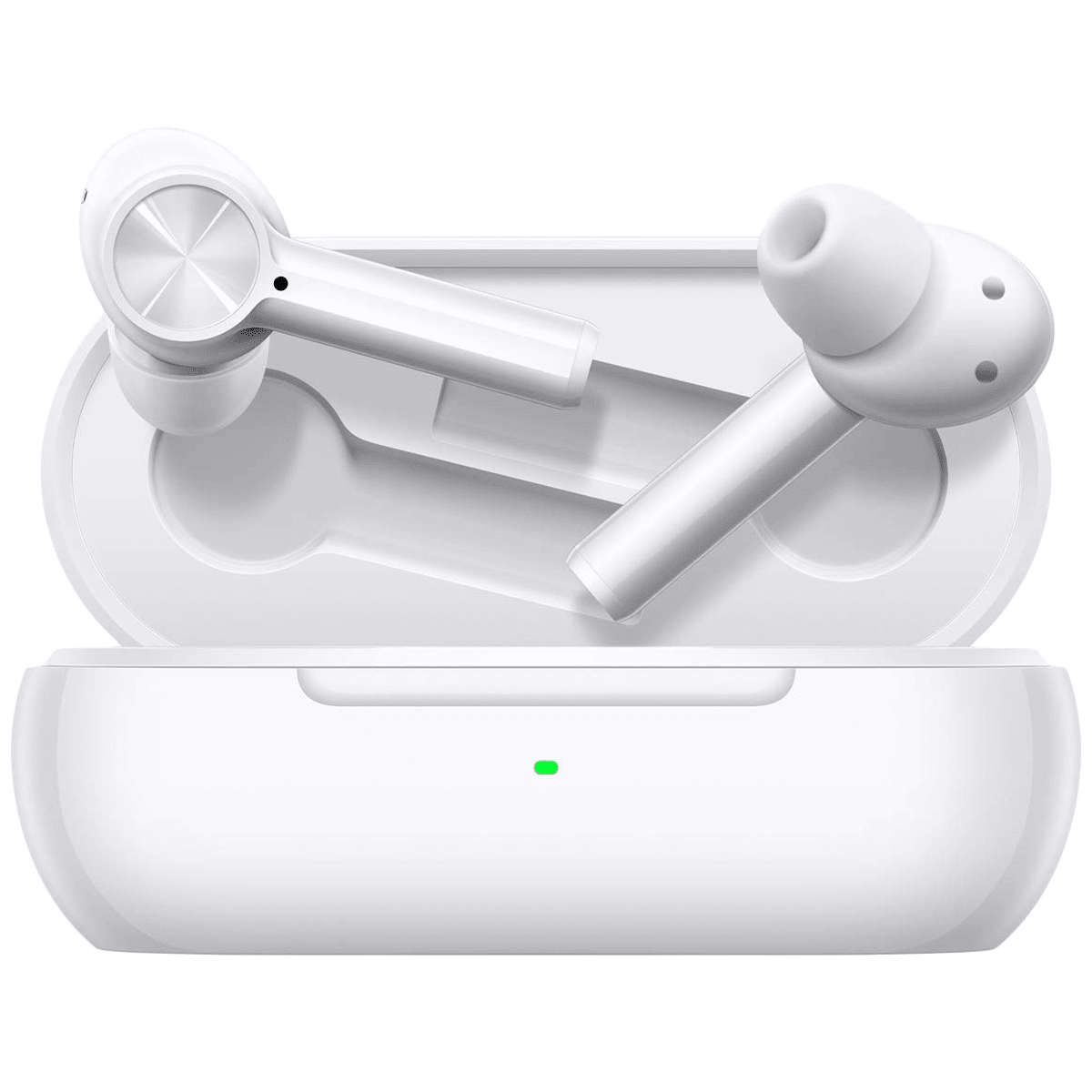 OnePlus Buds Z In-Ear Truly Wireless Earbuds with Mic (Bluetooth 5.0, Quick Pair, E502A, White)