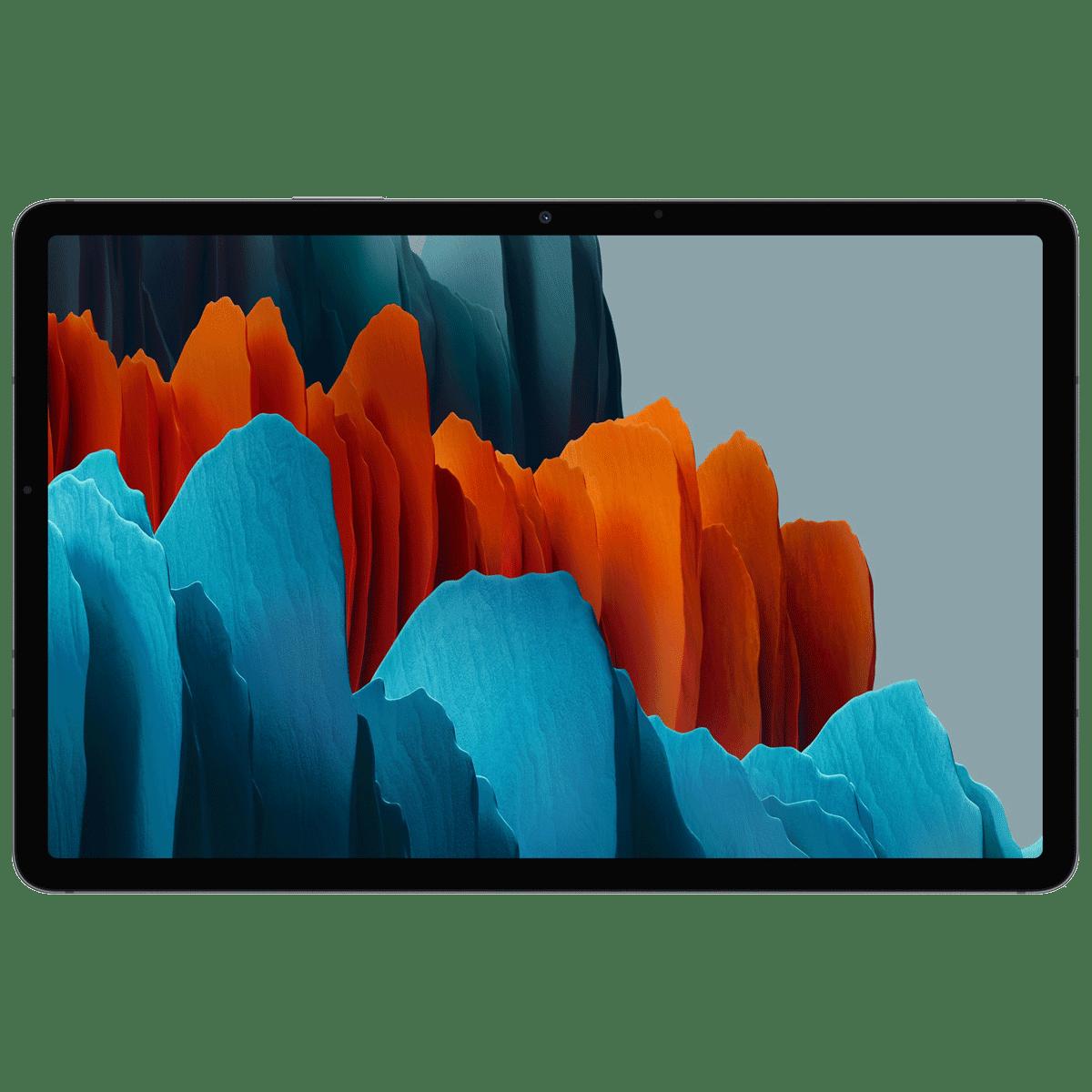 Samsung Galaxy Tab S7 Plus WiFi Android Tablet (Android 10, Qualcomm Snapdragon 865 Plus, 31.50 cm (12.4 Inches), 6GB RAM, 128GB ROM, SM-T970NZKAINU, Mystic Black)
