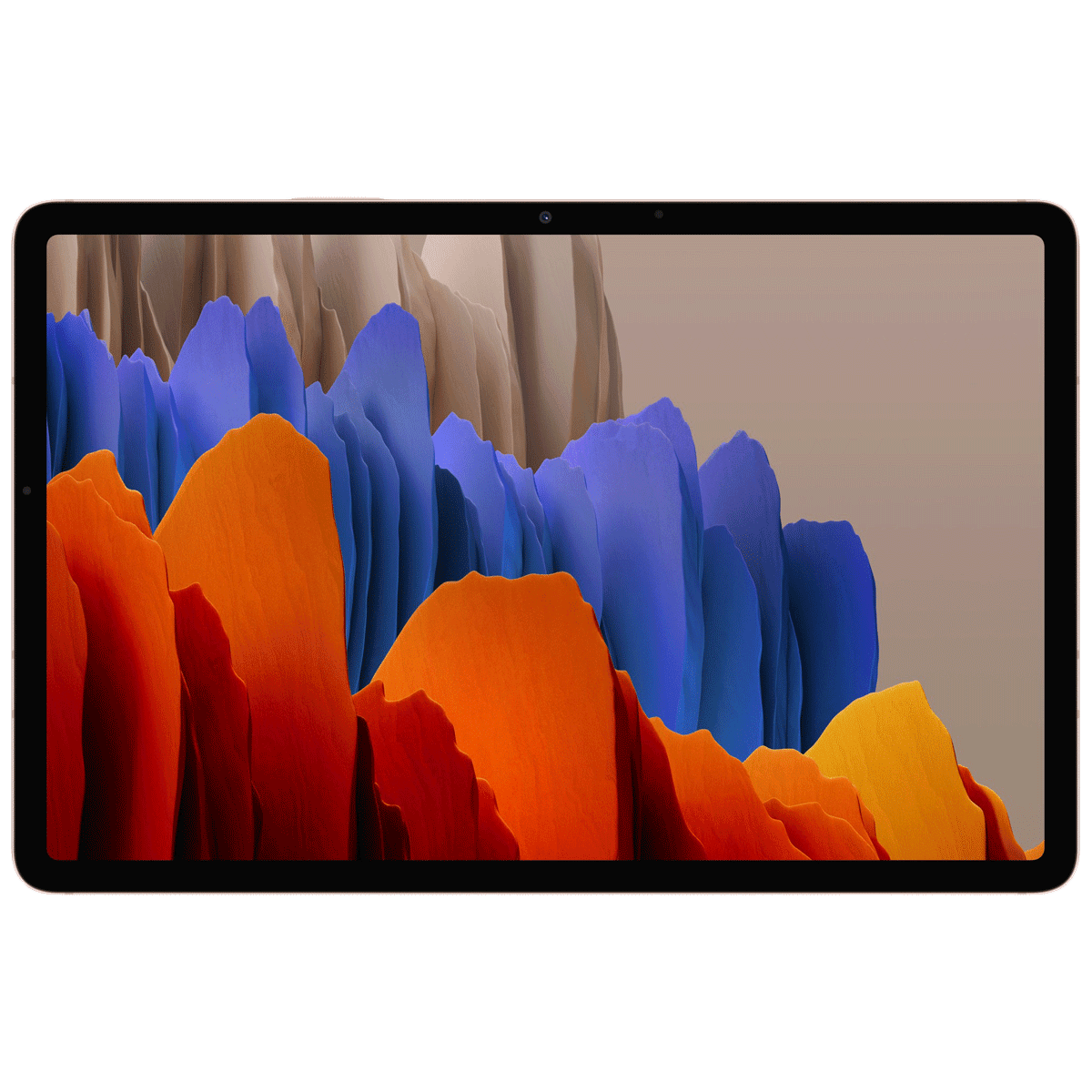 Samsung Galaxy Tab S7 Plus WiFi Android Tablet (Android 10, Qualcomm Snapdragon 865 Plus, 31.50 cm (12.4 Inches), 6GB RAM, 128GB ROM, SM-T970NZNAINU, Mystic Bronze)