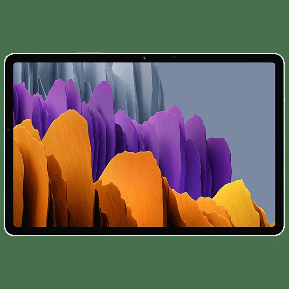 Samsung Galaxy Tab S7 WiFi Android Tablet (Android 10, Qualcomm Snapdragon 865 Plus, 27.81 cm (11 Inches), 6GB RAM, 128GB ROM, SM-T870NZSAINU, Mystic Silver)