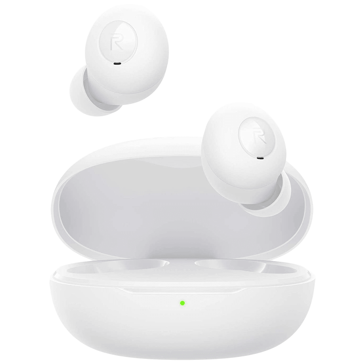 Realme Buds Q In-Ear Truly Wireless Earbuds with Mic (Bluetooth 5.0, Intelligent Touch Controls, RMA215, Quite White)