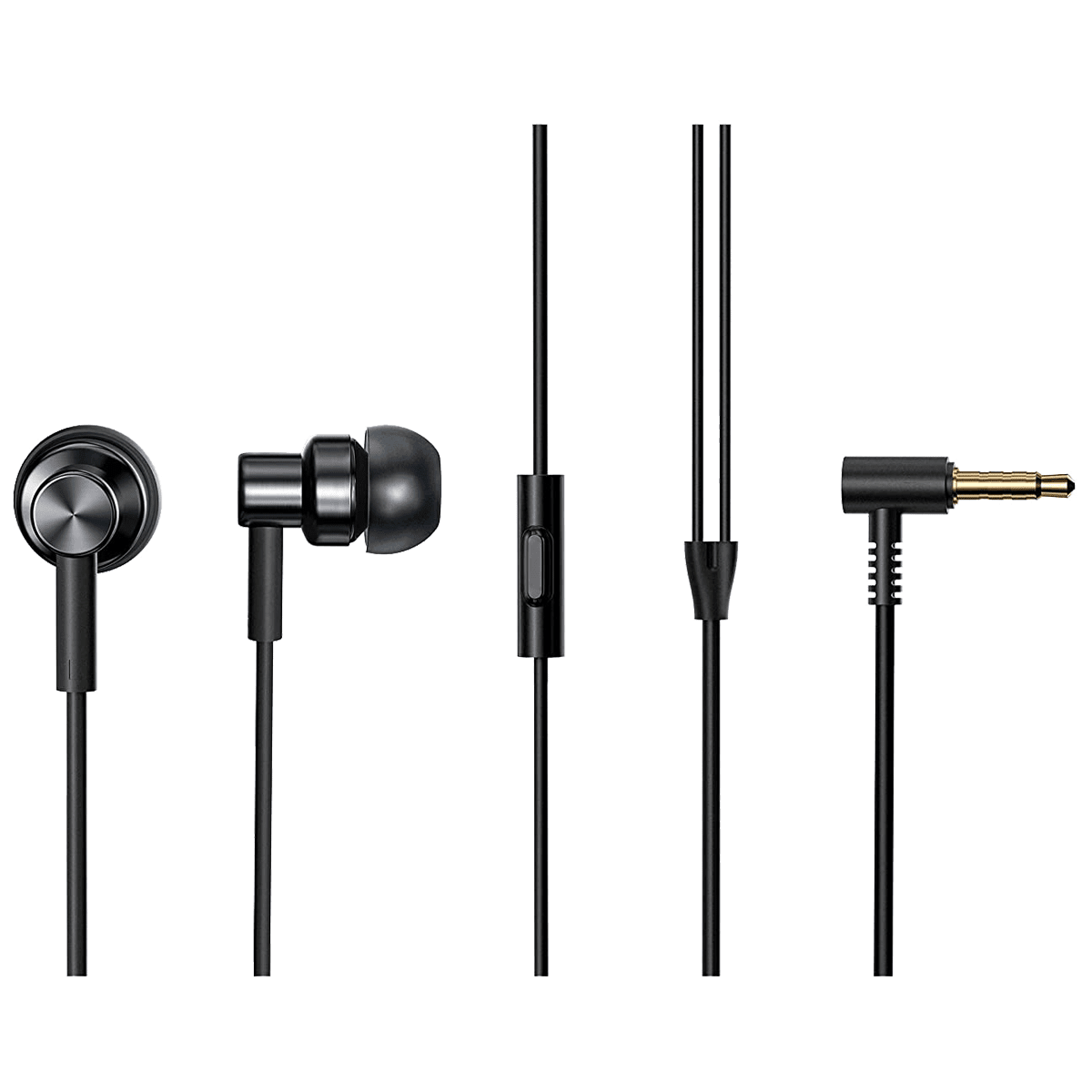 Xiaomi Redmi In-Ear Wired Earphone with Mic (In-Built HD Microphone, BHR4205IN, Black)