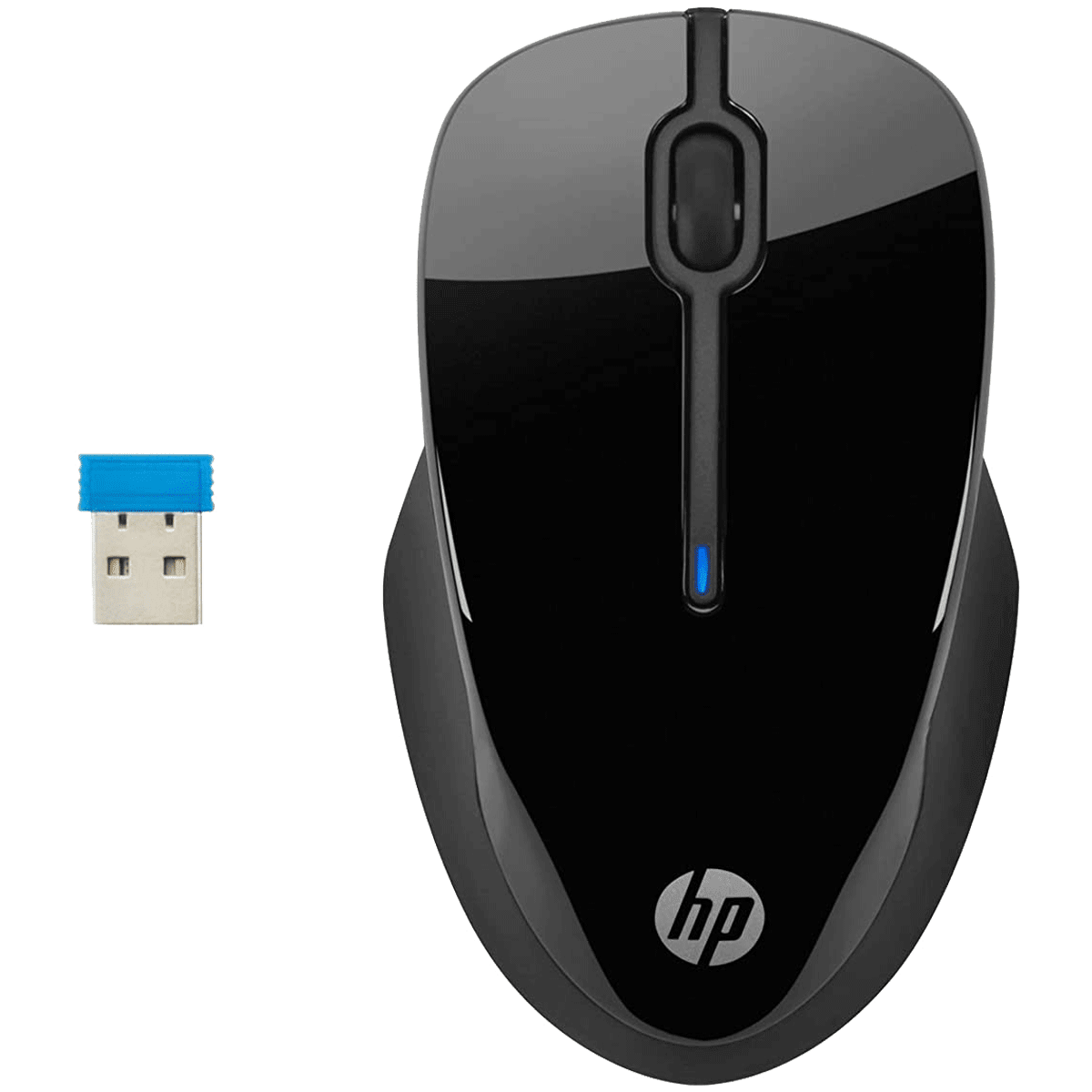 HP 250 Wireless Mouse (Contoured Shape Designed, 3FV67AA, Black)