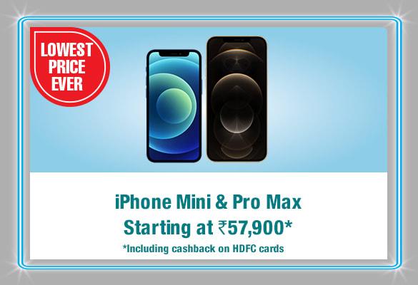 iPhone Mini & Pro Max