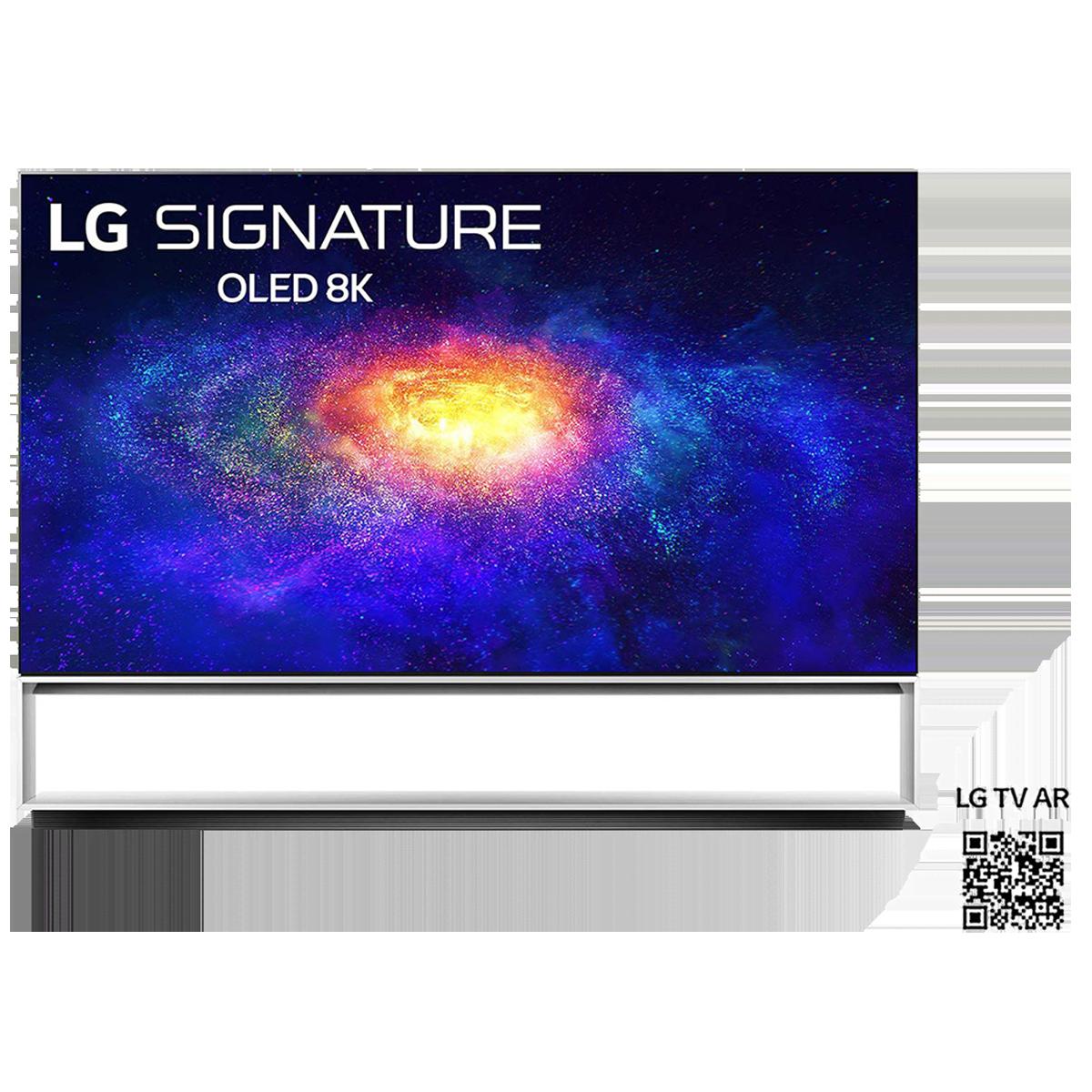 LG 223.52cm (88 Inch) Ultra HD 8K OLED Smart TV (Sculpture Design, OLED88ZXPTA, Black)