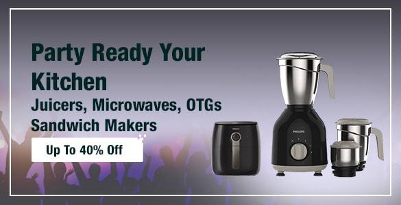 Juicers, Microwaves, OTGs