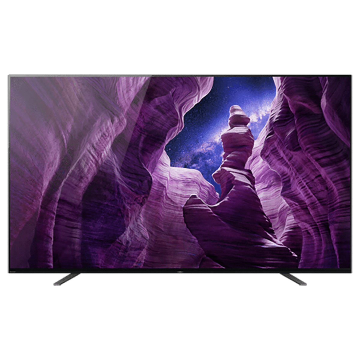 Sony 164cm (65 Inch) Ultra HD 4K OLED Android Smart TV (2.2 Channel Speaker, KD-65A8H, Black)