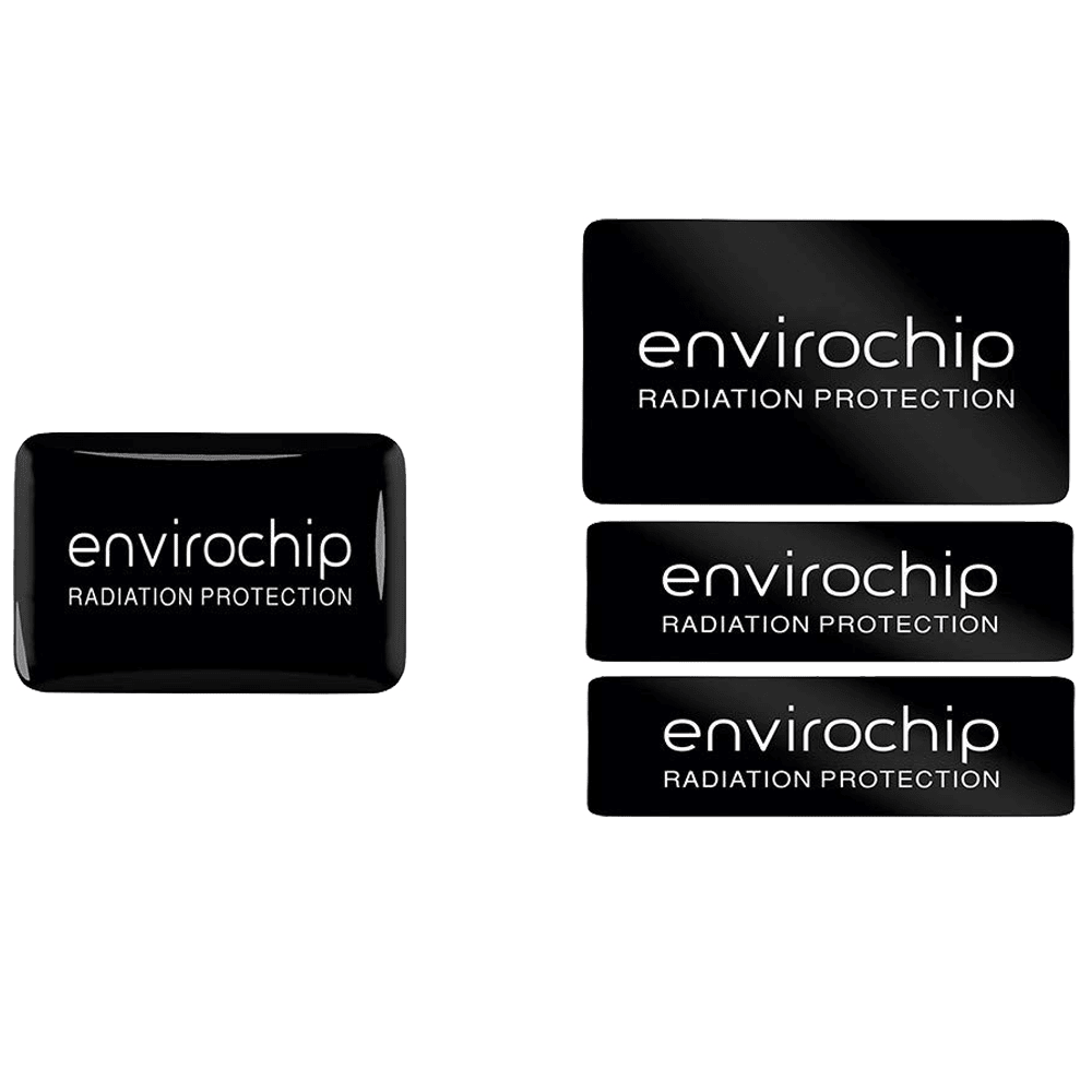 Environics Envirochip Anti Radiation Chip for Mobile and Laptop (Pack of 2, 112CLTP, Black)