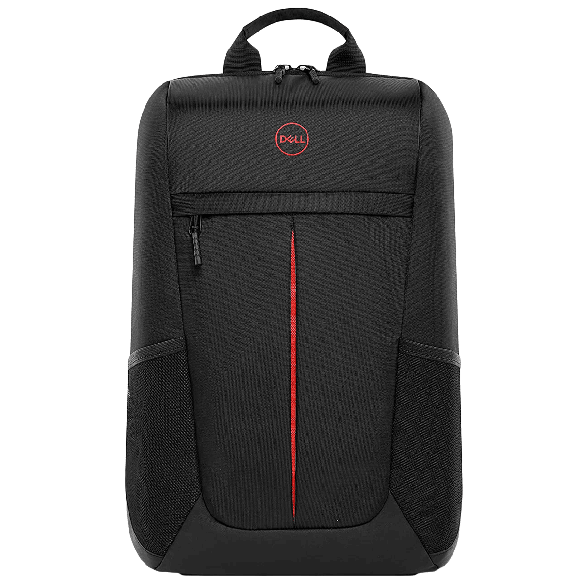 Dell Gaming Lite Nylon Backpack for 17 Inch Laptop (Lightweight and Comfortable, 460-BCZI, Black with Red Accents)