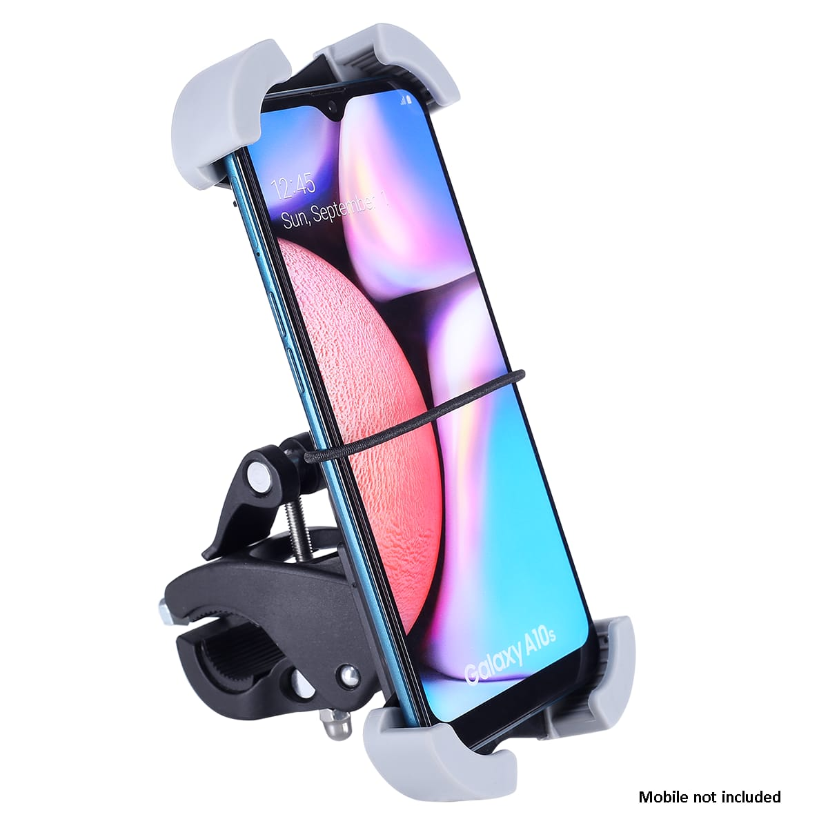 Croma Mobile Mount for Motor Bike and Bicycle (360 Degree Rotating, CRCA2017, Black)_3