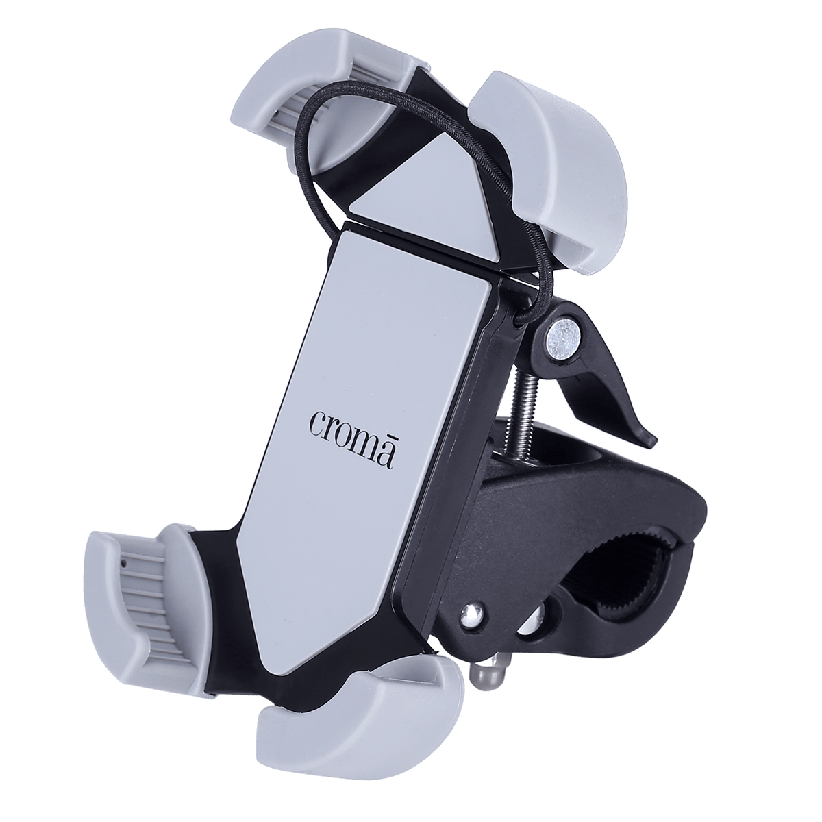 Croma Mobile Mount for Motor Bike and Bicycle (360 Degree Rotating, CRCA2017, Black)_1
