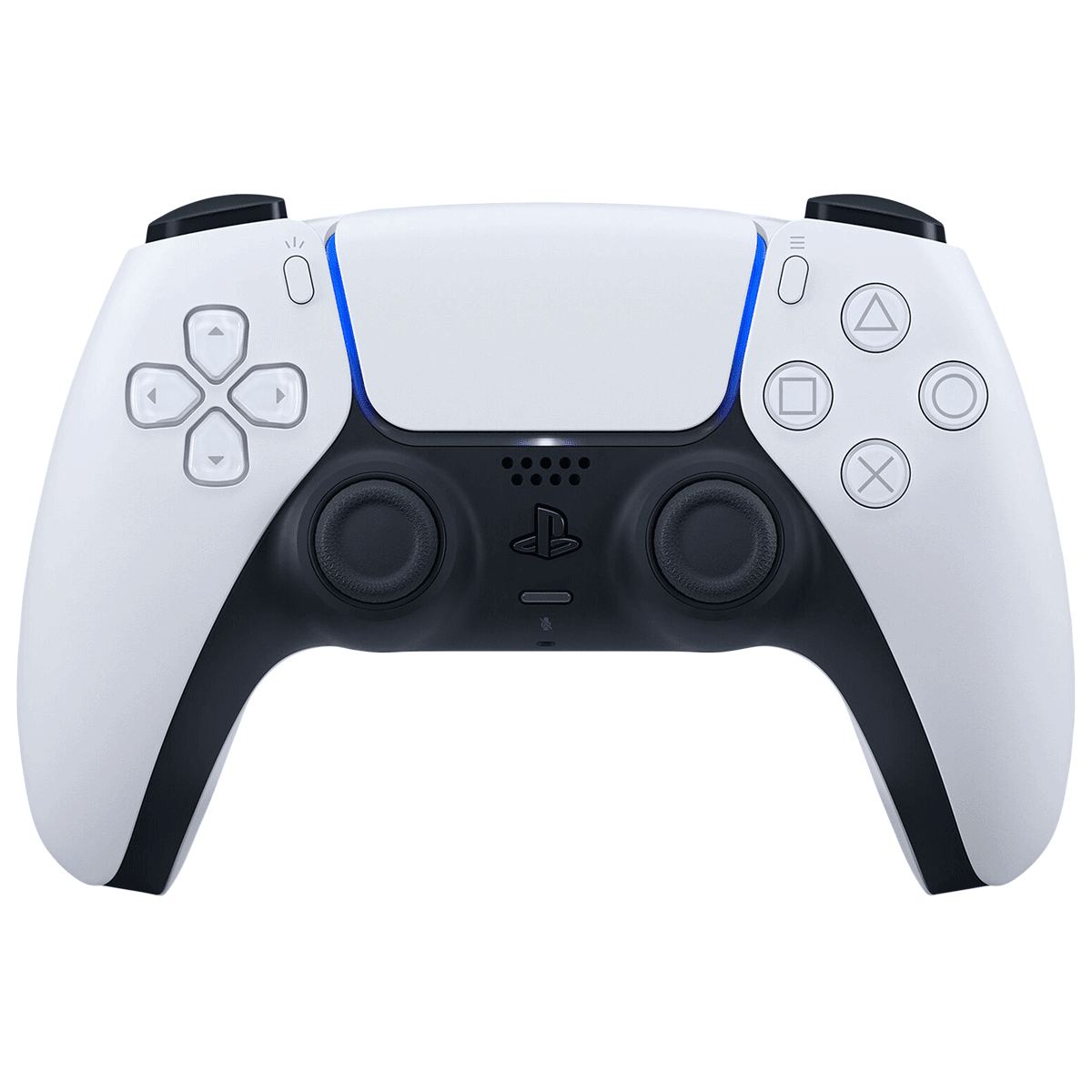 Sony DualSense Wireless Controller for Playstation 5 (Highly Immersive Gaming Experience, CFI-ZCT1WRU, White)