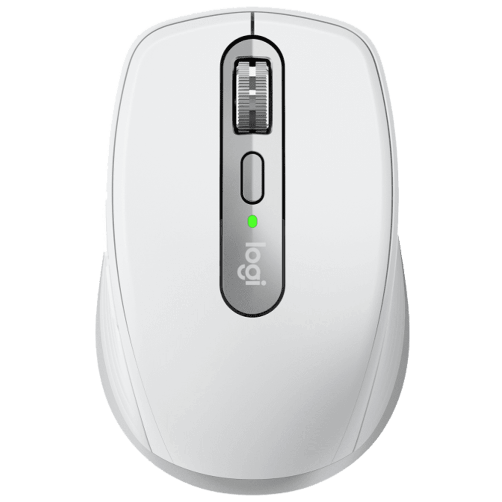 Logitech MX Anywhere 3 Bluetooth and USB Laser Mouse (Sensor Technology, 910-005995, Pale Gray)