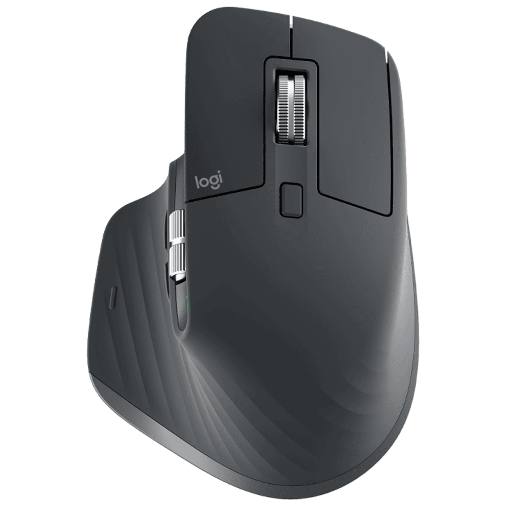 Logitech MX Master 3 Bluetooth and USB Laser Mouse (Sensor Technology, 910-005698, Graphite)