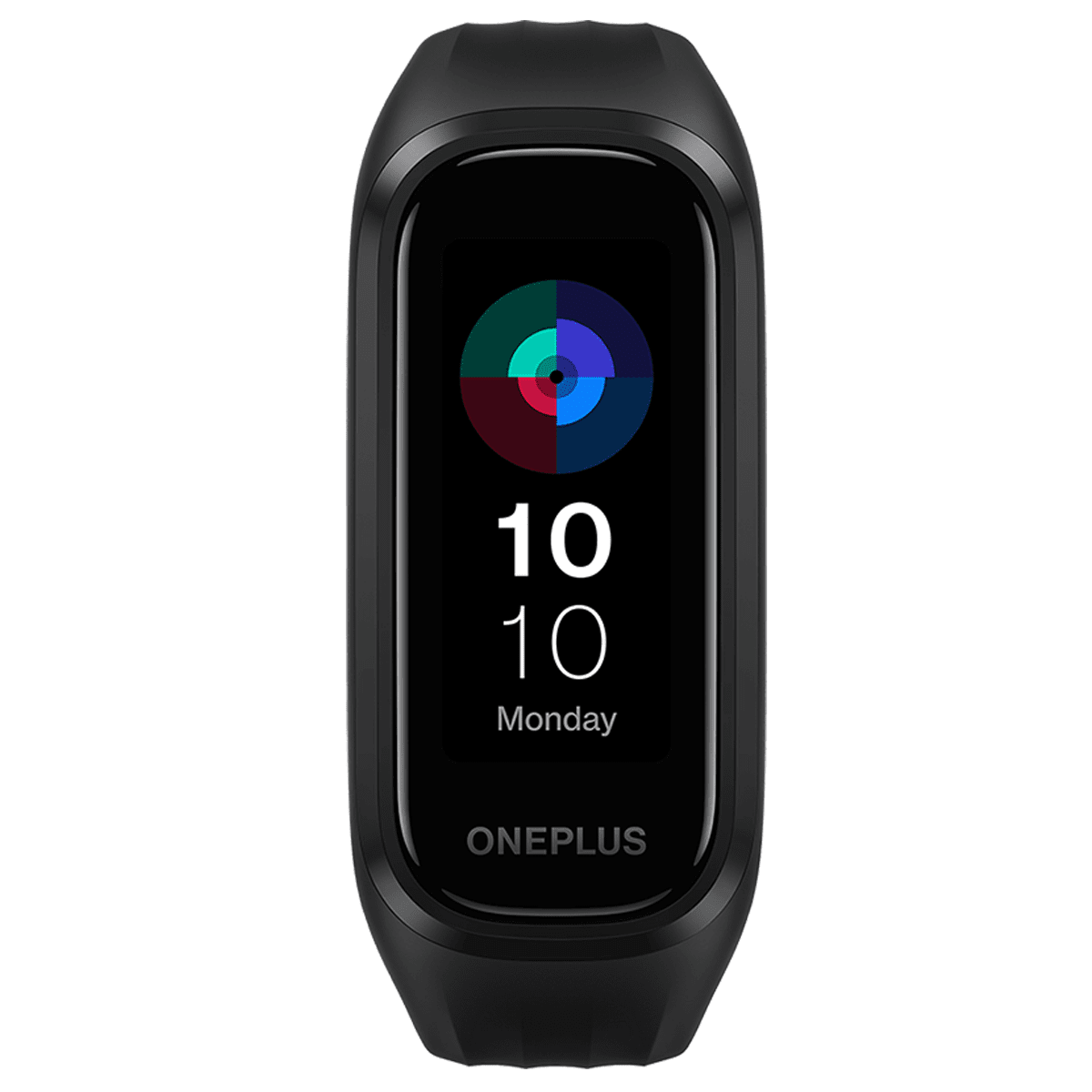 OnePlus Smart Band (40.4mm) (Step Count, W101N, Black, Aluminum Rubber Dual Strap)_1