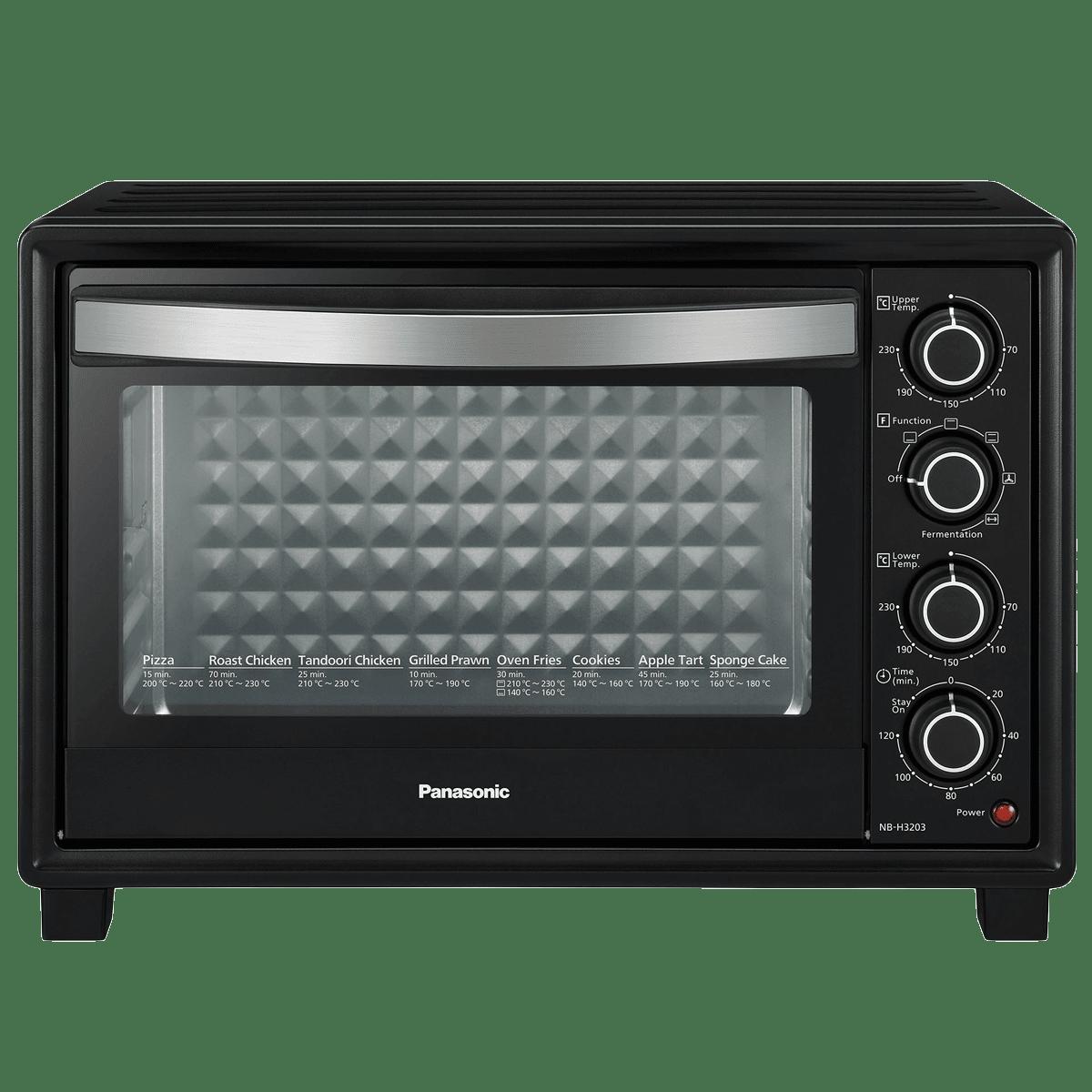 Panasonic 32 Litres OTG (Fermentation Function, NB-3203KSM, Black)