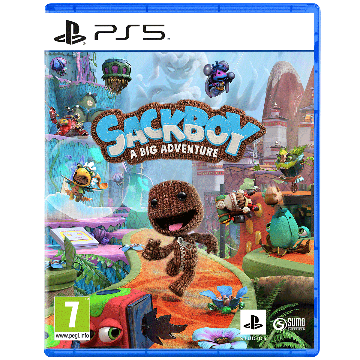 Sony Sackboy: A Big Adventure For PS5 (Action-Adventure Games, Standard Edition, PPSA-01288)