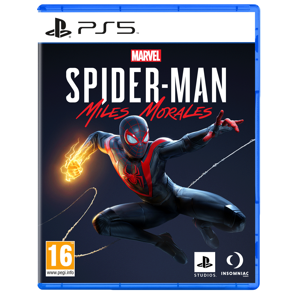 Sony Marvel's Spider-Man: Miles Morales For PS5 (Action-Adventure Games, Standard Edition, PPSA-01341)