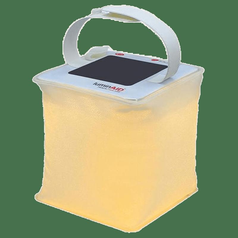 Agnisolar Inflatable Light 2s Solar LED Light (Water Proof, AG-LANC, White)