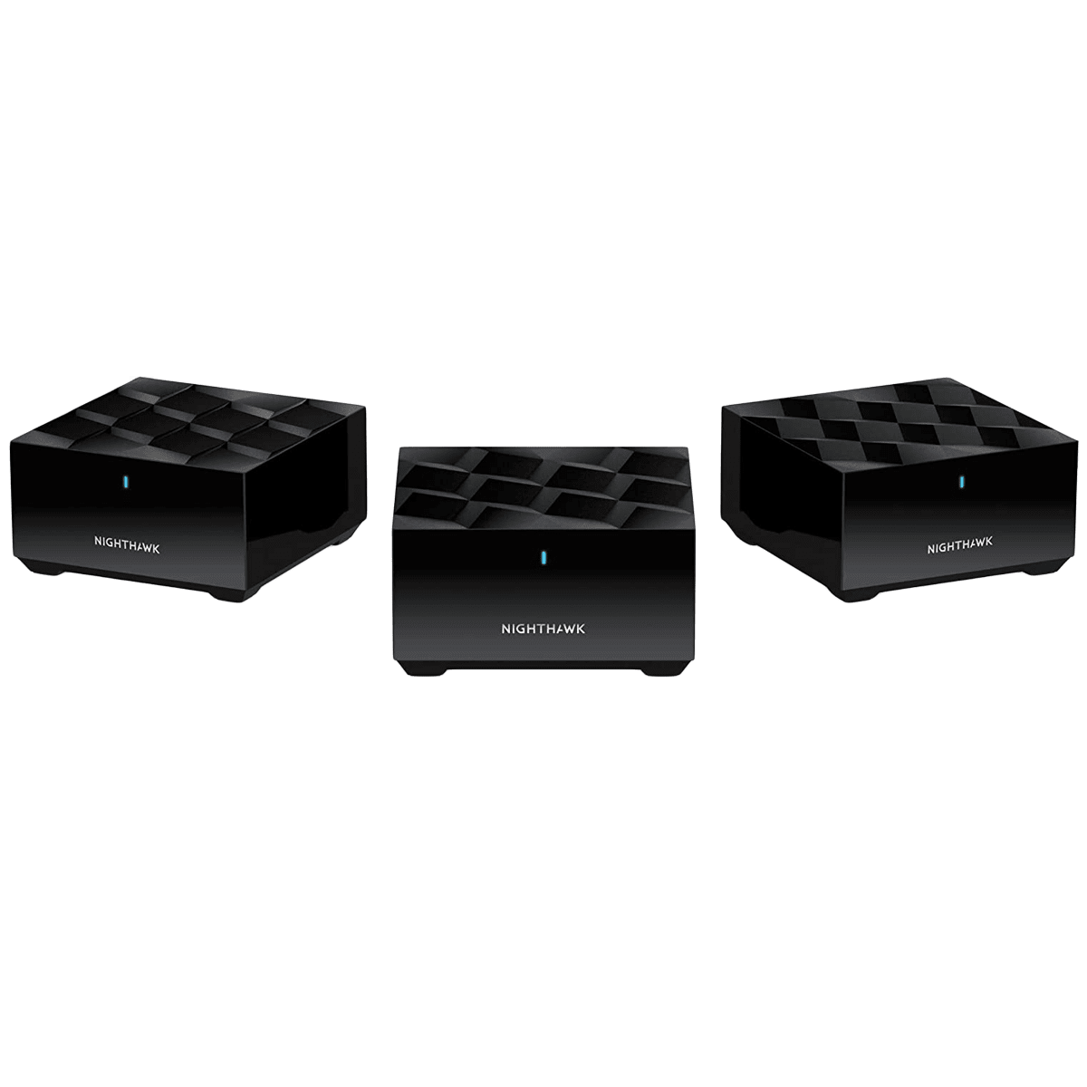Netgear Nighthawk Dual Band 1.8 Gbps WiFi Home Mesh System (4 Antennas, Data Streaming, MK63, Black)