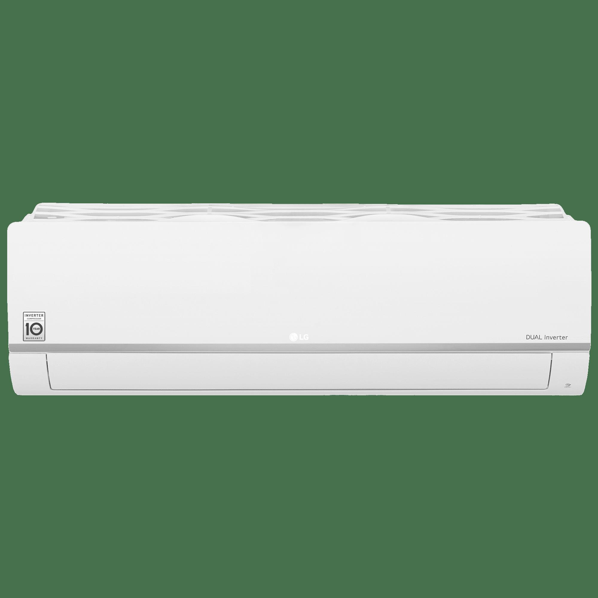 LG 1 Ton 5 Star Inverter Split AC (Air Purification Function, Wi-Fi, Copper Condenser, MS-Q12SWZD, White)