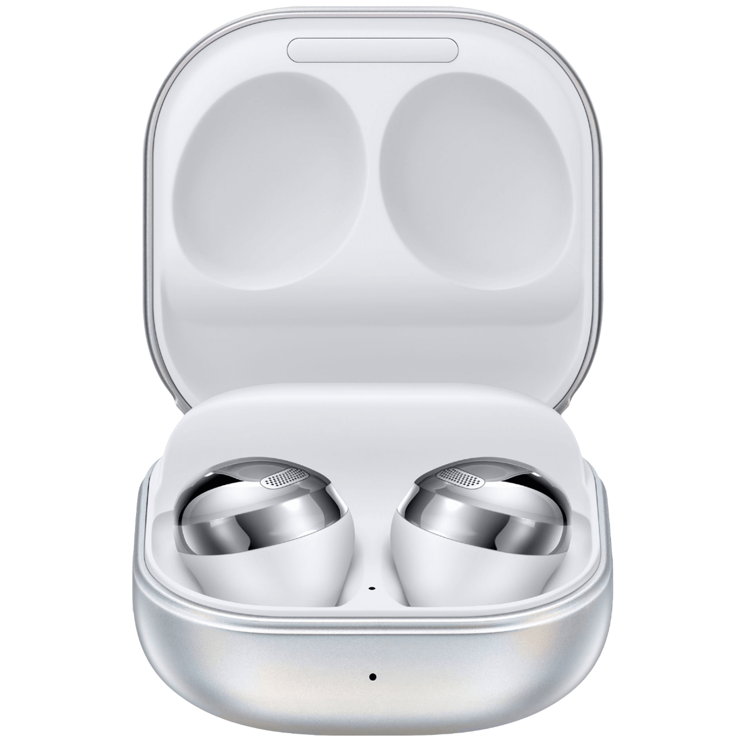 Samsung Galaxy Buds Pro In-Ear Truly Wireless Earbuds with Mic (Bluetooth 5.0, Bixby Supported, SM-R190NZSAINU, Phantom Silver)